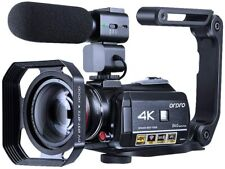 ORDRO 4K Camcorder Vlogging Camera 1080P 60FPS IR Night Vision Wi-Fi