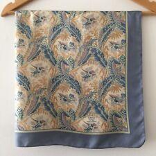 Liberty 100% Silk Vintage Scarf - Large