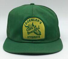 Vintage Doebler's Patch Snapback Trucker Hat Cap