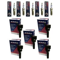 New ACDelco Ignition Coils (5) + (5) Bosch Spark Plugs For 2006-09 Buick GMC
