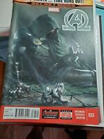 New Avengers #33 VF (2013 Series) Marvel Comic Hickman