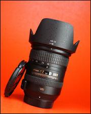 Nikon AF-S 18-200mm F3.5-5.6 G DX VR MK Lente Frontal II ED & Tapa Trasera de Objetivo + Capucha