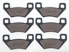Front & Rear Break Pads For Actic Cat 400 TRV 4x4 2UP 2009 2010