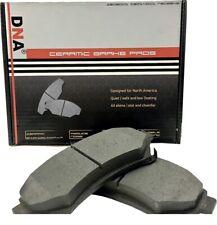 DNA Front Ceramic Brake Pads fits Dodge Challenger 09-10 3.5L 11-13 3.6L D1056