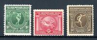 Belgien MiNr. 159-61 postfrisch MNH Antwerpen 1920 (Oly2245