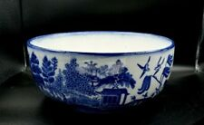 RARE - MINTON BLUE AND WHITE BOWL - WILLOW PATTERN