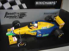 1:18 benetton ford b191b m. brundle 1992 Minichamps 100920120 OVP New