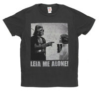 Star Wars Darth Vader Princess Leia Me Alone Movie Junk Food Adult T-Shirt Tee