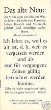 Theaterprogramm, Berliner Ensemble, Blaue Pferde auf rotem Grund, 1980/81