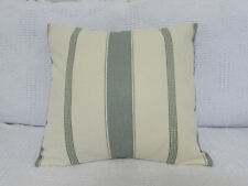 Cushion Cover, Designers Guild, Striped, Cream, Mixed Greens, Textured, Stripe.
