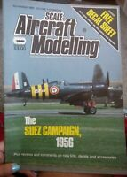 Scale Aircraft Modelling  Magazine  November 1984  The Suez Campaign 1956