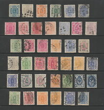 Finland 1875 - 1896 collection, 39 stamps