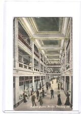 1911 COLORED POSTCARD JENKINS ARCADE BUILDING, PITTSBURGH, PA 1ST US INDOOR MALL