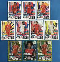 MATCH ATTAX EXTRA 2020/21 BAYERN MUNICH SET OF ALL 10 CARDS PICTURED
