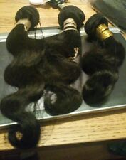 10A BRAZILIAN PERUVIAN 3pcs 300g BODY WAVE HUMAN HAIR 12 14 16