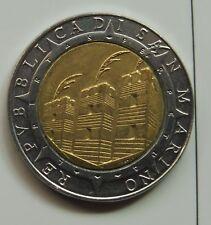 G1576 Münzen San Marino 500 Lire 1992 R Km#286 Columbus America Bimetall Münzen Varia