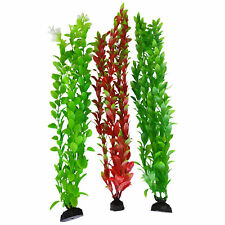 New listing Natural Colors Green & Red Seaweed Aquarium Plants 15-16 Inch, 3 pack