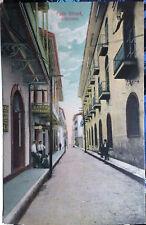 Panama News Agency Post Card 1905-15 Street Scene, Canal Zone Panama