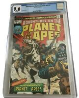 Adventures on the Planet of the Apes-Oct 1975-Marvel CGC 9.6 NM+ white pages