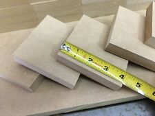 """(20) - 4"""" MDF Square Craft Wood Shape 3/4"""" Thick - Custom Sizes Available"""