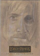 "Lord of the Rings Masterpieces - Lee Kohse ""Aragorn"" Sketch Card"