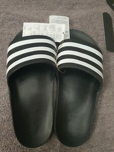 Adidas Mens Womens Sliders Slides Shoes Beach  Shower Pool Sandals Size uk9