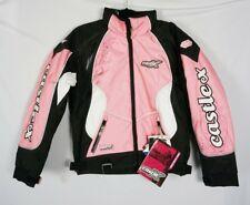 Castle X Womens Racing Snowmobile SWITCH Pink Black Jacket Coat Sz XS - NWT
