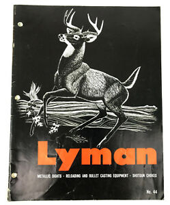 Vintage Lyman No 44 Sight Catalog