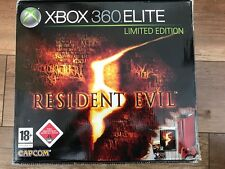 Microsoft Xbox 360 Elite Resident Evil 5 Limited Edition 120GB Rot Konsole