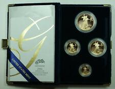 2006 American Eagle Gold Proof 4 Coin Set AGE in Box w/ COA