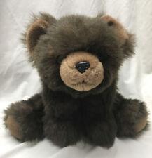 "The Bearington Collection Fuzzy Brown Bear 18"" Teddy Pelleted Feet"