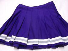 "Varsity ""PURPLE"" Cheer skirt. Adult Size 10 Cheerleader"