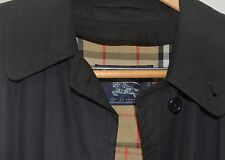 Vintage Burberry Long Trench Coat Size 12 XXL  with wool zip-out lining Women's