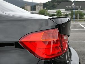 BMW Painted Gloss Black  F32 4 SERIES COUPE 2013-2117 REAR BOOT LIP SPOILER
