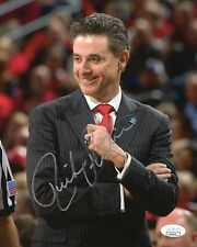 RICK PITINO HAND SIGNED 8x10 COLOR PHOTO       FORMER LOUISVILLE COACH      JSA