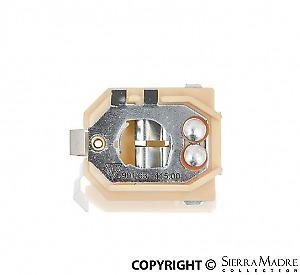 Brake and Rear Light Bulb Holder, 2-Pin, Porsche 911/912 (65-68) 901.631.415.00