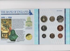 2137 Coins UK 1994 uncirculated set