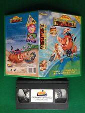 VHS Walt Disney - IN GIRO MONDO CON TIMON E PUMBAA (ITA 1996) VS 4629