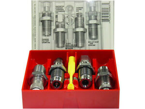 Lee Deluxe Carbide 4-Die Set 38 Special, 357 Magnum - Lee #: 90964