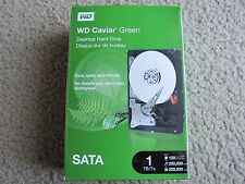 New Western Digital 1TB Caviar Green SATA Internal Hard Drive WDBAAY0010HNC-NRSN