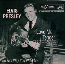 """ELVIS PRESLEY  """"ANY WAY YOU WANT ME""""     R&R    RED VINYL    LISTEN"""