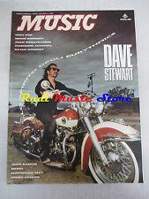 Rivista MUSIC 129/1990 Dave Stewart Iggy Pop Bruce Hornsby Bryan Kennedy  NO cd