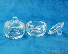2 X Glass Dappen Dish Set #03 For Acrylic Nails