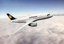 (04597) Lufthansa Airbus A319 - unused postcard