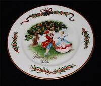 Royal Gallery QUEENSBERRY Federated Dept Store KING OF DOLLS Accent Salad Plate