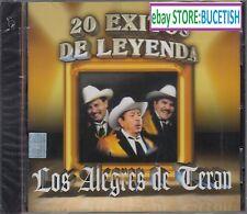 Los Alegres de Teran 20 exitos de Leyenda CD New Nuevo sealed