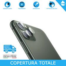 Pellicola Vetro Temperato 3D 9H Proteggi FOTOCAMERA Apple iPhone 11/Pro/Max