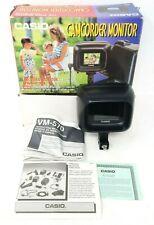 """Casio Camcorder LCD Video Monitor VM-570 2.2"""" Screen w Box! EUC"""
