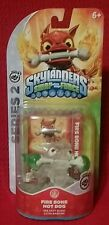 CRYSTAL CLEAR Fire Bone Hot Dog GREEN FLAMES Frio Lay EXC. Skylanders SWAP Force