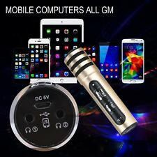 R7 Wireless Moving-Coil Live Streaming Karaoke Microphone Player for iOS Android